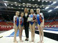 Nadia International Invitational. American medals and European hopes
