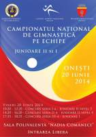Onesti 2014 - Junior Team nationals. Category II, level 4